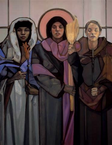 Mary Magdalene, Susanna and Joanna, by Mary McKenzie of the Nativity Project