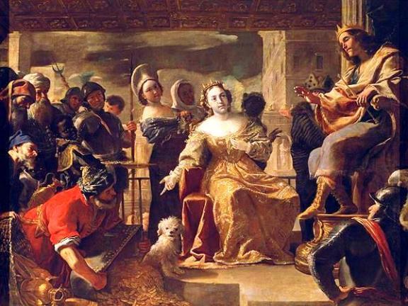 The Gifts of the Queen of Sheba, Mattia Preti