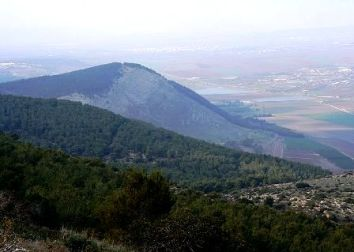 Where it happened: the slopes of Mount Gilboa