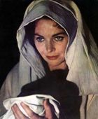 Mary of Nazareth in 'The Greatest Story Ever Told'