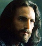 Jesus of Nazareth as portrayed in the movie 'Passion of the Christ'