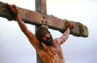 What happened when a man was crucified?