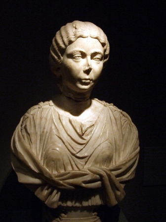 Statue of an ancient Roman woman, 2nd century AD, Barcelona