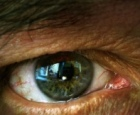 The Eye of Truth: close-up of a man's eye