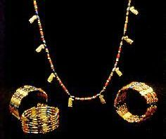 Bracelets from 1500-1800BC, about the time of Rachel's story