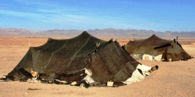 Tents of nomadic herders like Rachel and Jacob