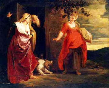 Hagar expelled by Abraham and Sarah, Peter Paul Rubens