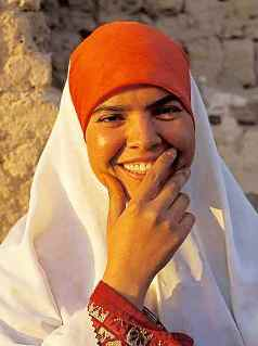 Ruth, young Middle Eastern woman