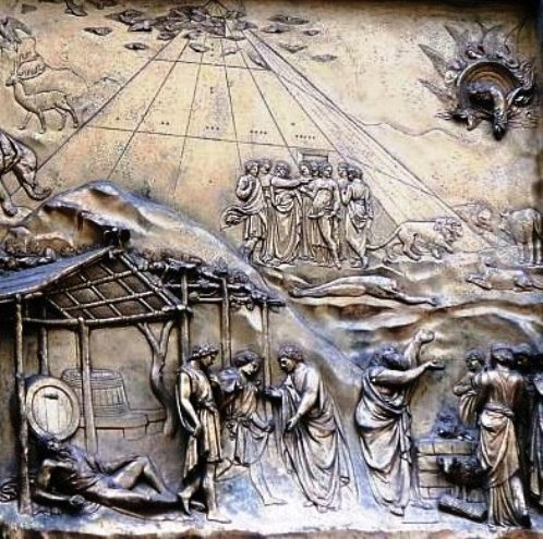 Story of Noah, copy of the Gates of Paradise in Florence