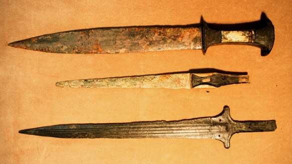 Swords from ancient Canaan