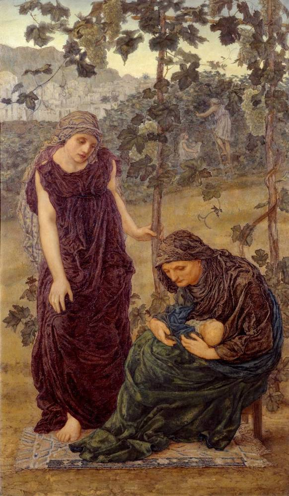 Naomi, Ruth and Obed,Thomas Matthews Rooke,1876
