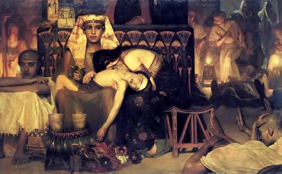 Bad Bible men: Lawrence Alma Tadema, Death of the Pharaoh's firstborn son