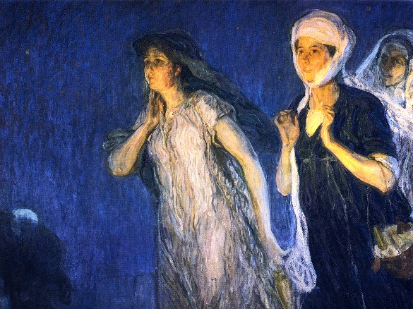 The Three Marys, Henry Ossawa Tanner