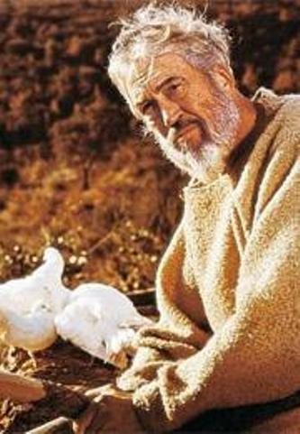 Bible movies, films. John Huston as Noah in 'The Bible'