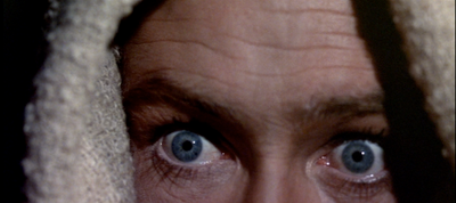 Bible movies, films. The all-seeing eyes of the Angel/God in 'The Bible'