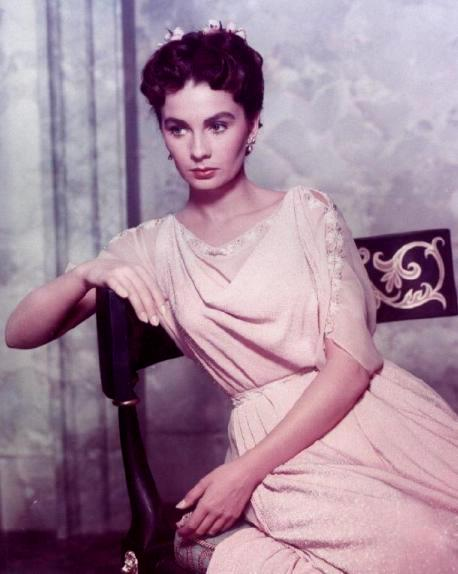 Bible movies, films. Jean Simmons as Diana in 'The Robe'