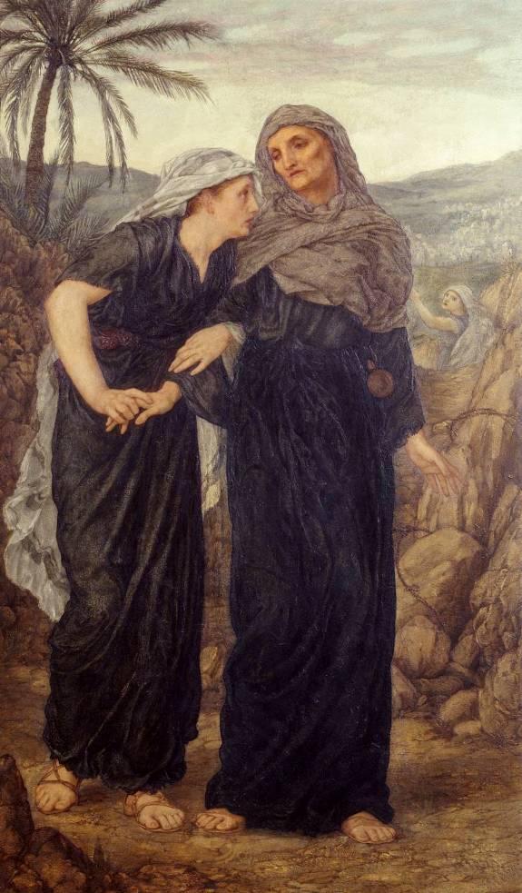 Thomas Matthews Rooke, Naomi and Ruth, 1876