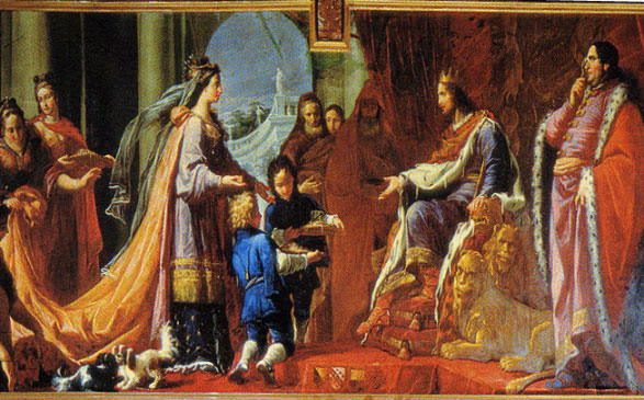 The Queen of Sheba meets King Solomon, Tiepolo