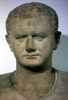 The Roman emperor Titus as a young man