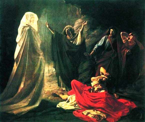 The Witch of Endor, Nicolai Gey
