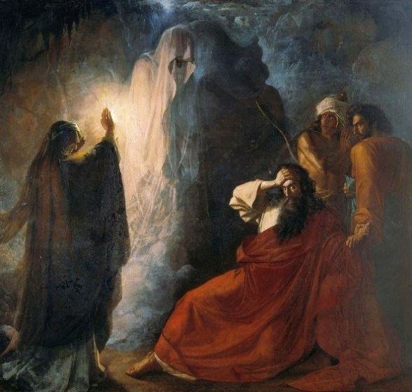 Martynov, Saul, Samuel and the Witch of Endor