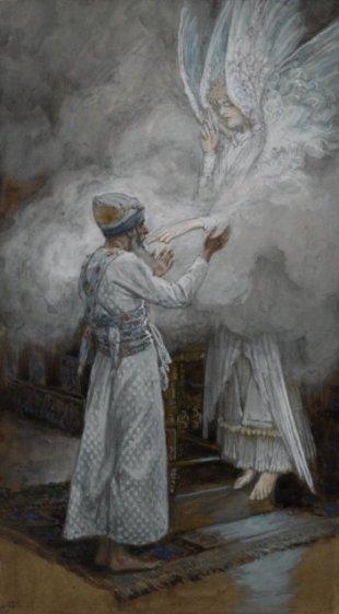 Zechariah and the Angel, James Tissot
