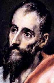 The Apostle St Paul, by Spanish artist El Greco