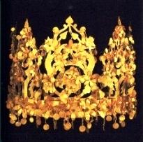 Bible princess: Jezebel. A delicate gold crown