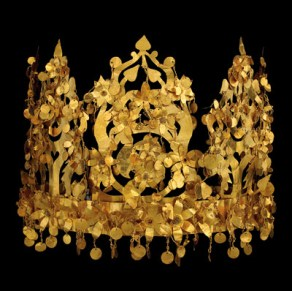 Ancient golden crown