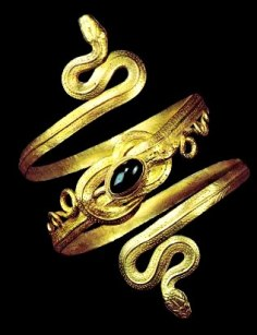 Salome and John the Baptist - jewelry
