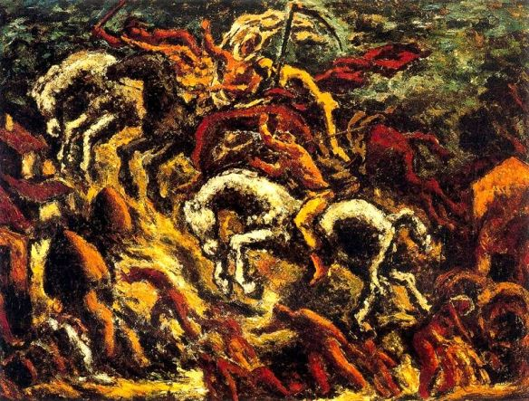 Apocalypse, Revelation: Four Horsemen of the Apocalypse by Arturo Souto