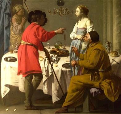 Jacob reproaches Laban, Brugghen