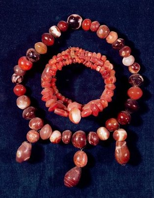Mesopotamian jewelry from Khorsabad, Iraq