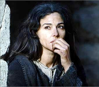 Bible movies, films. Mary Magdalene in 'The Passion of the Christ'