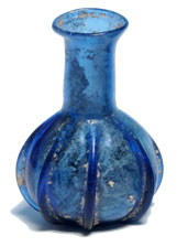 Ancient perfume bottle which may once have held nard, the perfume used by Mary to anoint Jesus