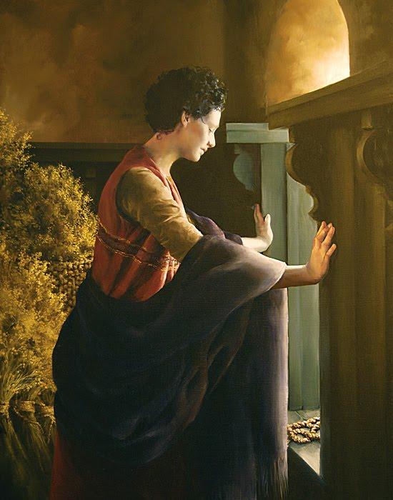 Rahab the Harlot, artist unknown