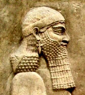 Wall relief of the great king Sennacherib, Louvre