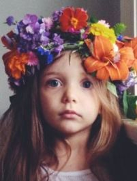 The Syrophoenician daughter - a beautiful little girl