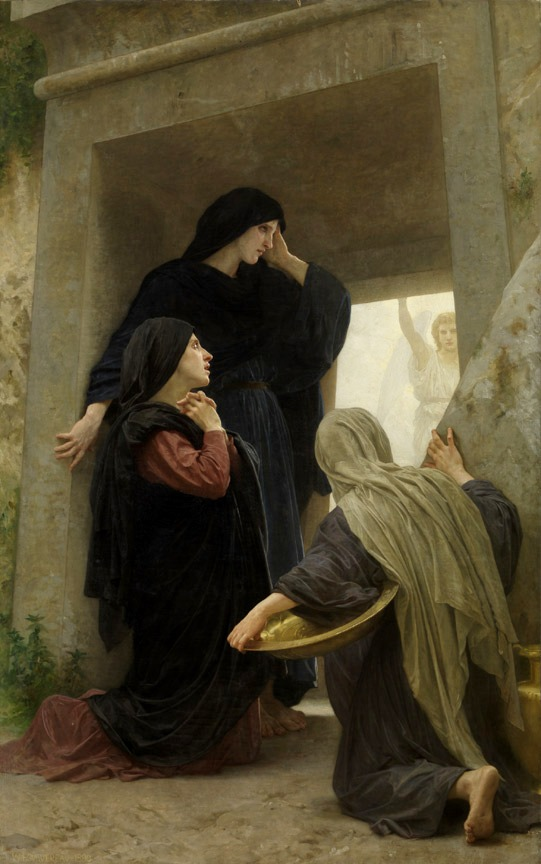 Women at the Tomb on Easter Morning, George Bourguereau