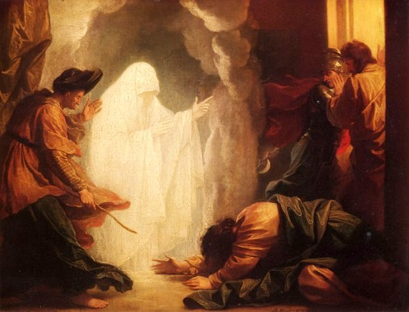The Witch of Endor, painted in 1777