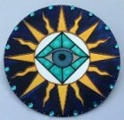 All-seeing eye associated with magic and spells