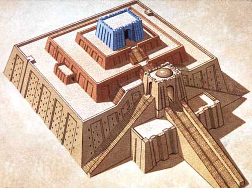 Women, work, worship: a reconstruction of the ziggurat at Ur, the city Sarah came from