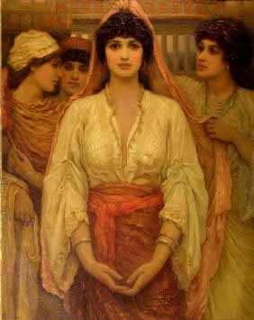 MARRIAGE, WOMEN IN THE BIBLE: THE BRIDE, by Frederick Goodall