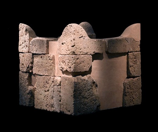 Beersheba ancient city: Reassembled ancient sacrificial altar found at Beersheba