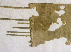 Finely woven linen from Egypt, circa 1350 BC