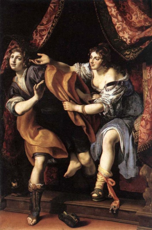 Bible paintings: Joseph and Potiphar's Wife, Ludovico Cigoli, 1610