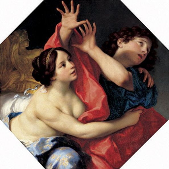 Paintings, 'Joseph and Potiphar's Wife', Carlo Cignani, 1678