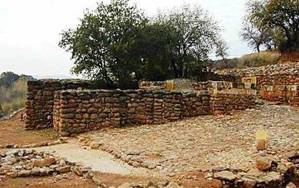 Adultery in the Bible: Ancient gates of the city of Dan.