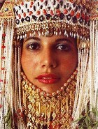 Middle Eastern bride