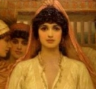 The Bride, Frederick Goodall, detail